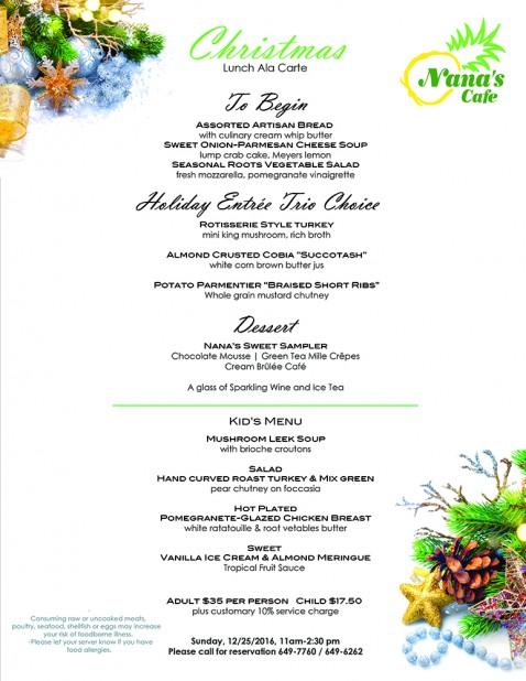 XMAS_NANAS lunch ala carte finalgg